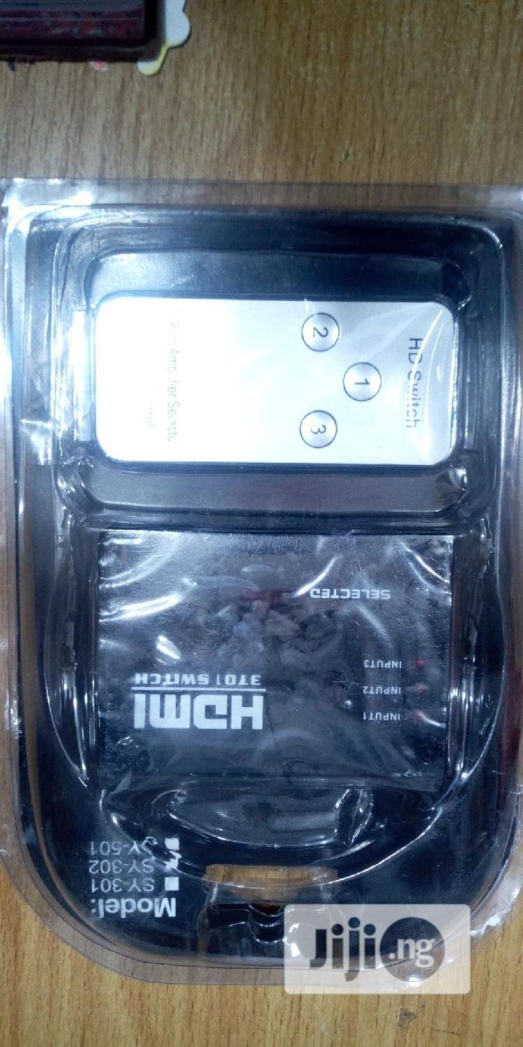 3-in-1 HDMI Switch | Computer Accessories  for sale in Ikeja, Lagos State, Nigeria