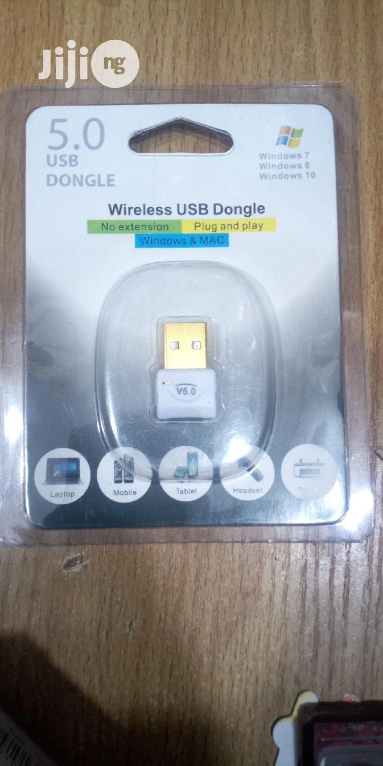 5.0 USB Bluetooth Dongle   Computer Accessories  for sale in Ikeja, Lagos State, Nigeria