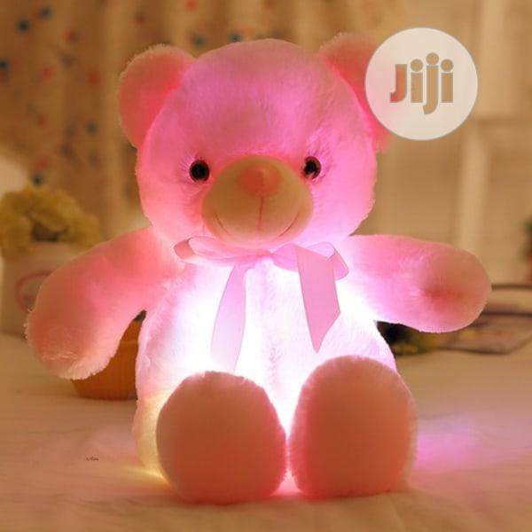 Cute Lamb Stuffed Animals, 50cm Light Up Led Teddy Bear Plush Toy Doll Pink In Ikeja Toys Dgs Store Jiji Ng For Sale In Ikeja Buy Toys From Dgs Store On Jiji Ng
