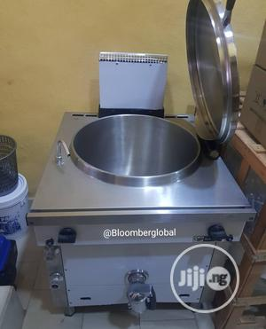 100L Gas Boiling Pan Industrial Boiler   Restaurant & Catering Equipment for sale in Lagos State, Ojo