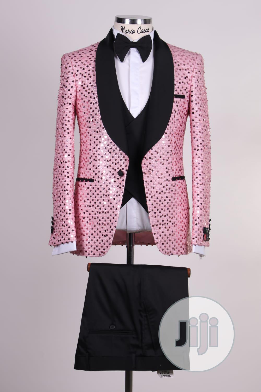 Archive: Latest Tuxedo Wedding Men Suit