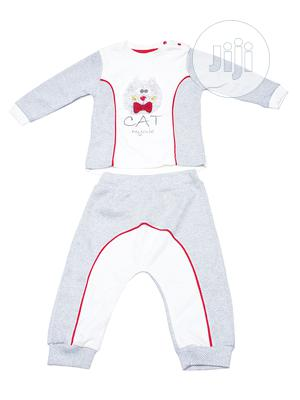 Boys Outfit Top and Joggers - Grey   Children's Clothing for sale in Lagos State, Ikeja