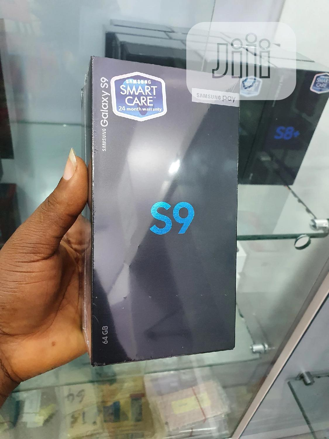 New Samsung Galaxy S9 64 GB Black