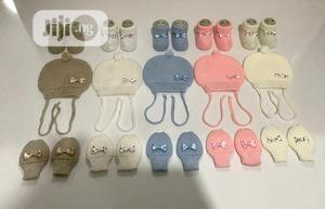 Knitted Baby Cap, Booties And Mittens | Baby & Child Care for sale in Lagos State, Ikorodu