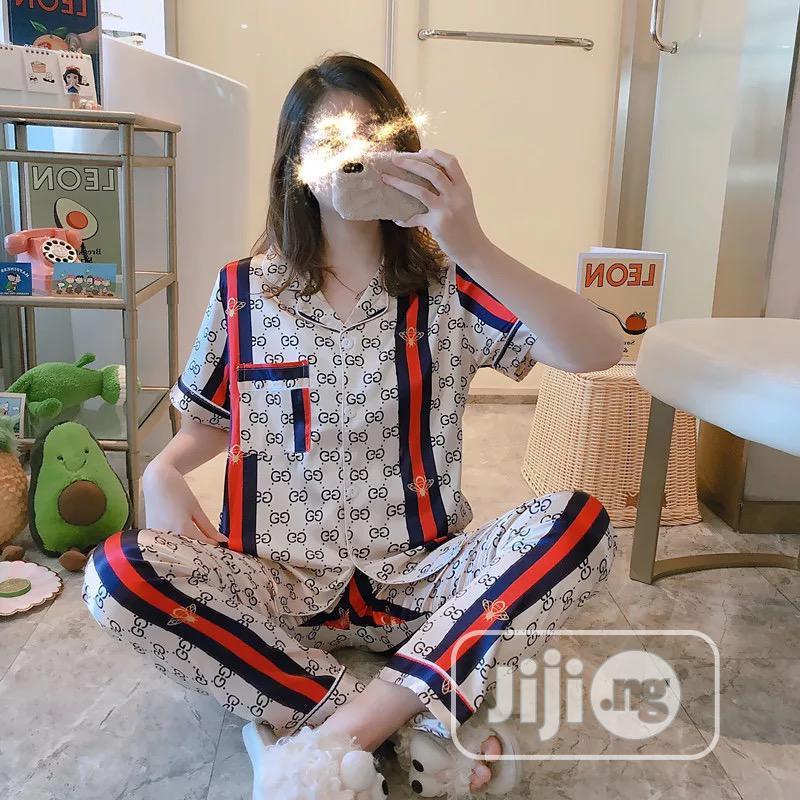 Pyjamas Satin Flower