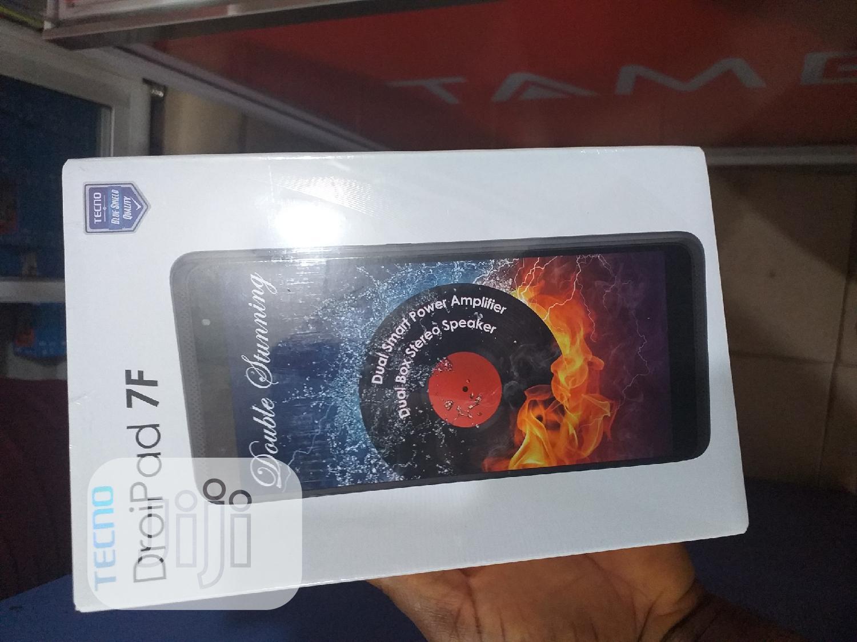New Tecno DroiPad 7E 16 GB Black   Tablets for sale in Ikeja, Lagos State, Nigeria