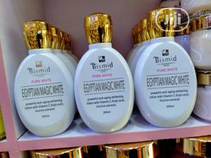 Bismid Egyptian Magic White Body Lotion 300ml | Skin Care for sale in Lagos State, Amuwo-Odofin