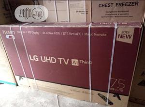 LG 75 Inches Smart Tv | TV & DVD Equipment for sale in Lagos State, Ojo