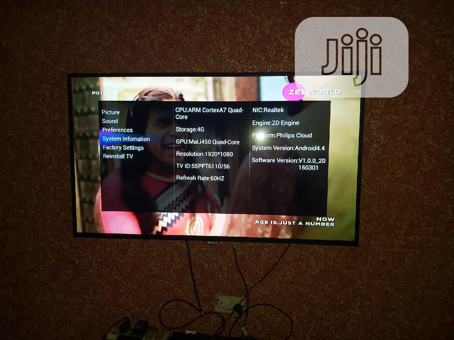"""55"""" Philips Android Smart Tv"""