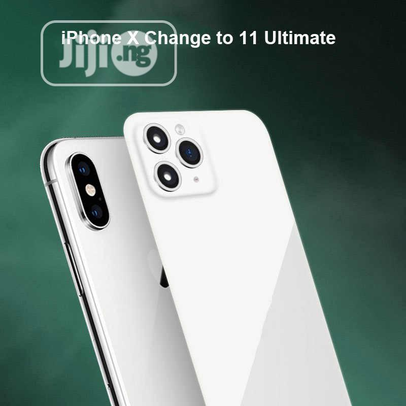 iPhone X XS MAX XR Seconds Change For iPhone 11 Pro Max Lens | Accessories for Mobile Phones & Tablets for sale in Ikeja, Lagos State, Nigeria