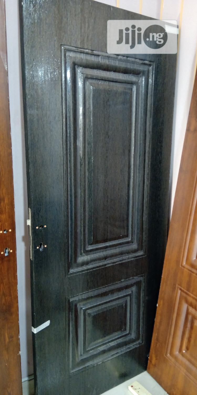 "Turkey Panel Steel Door 3ft""-750"". Brown, Black & White | Doors for sale in Amuwo-Odofin, Lagos State, Nigeria"