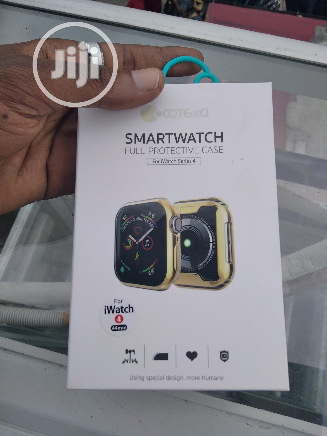 Rubber Silicon Protective Case For Apple Watch   Smart Watches & Trackers for sale in Ikeja, Lagos State, Nigeria