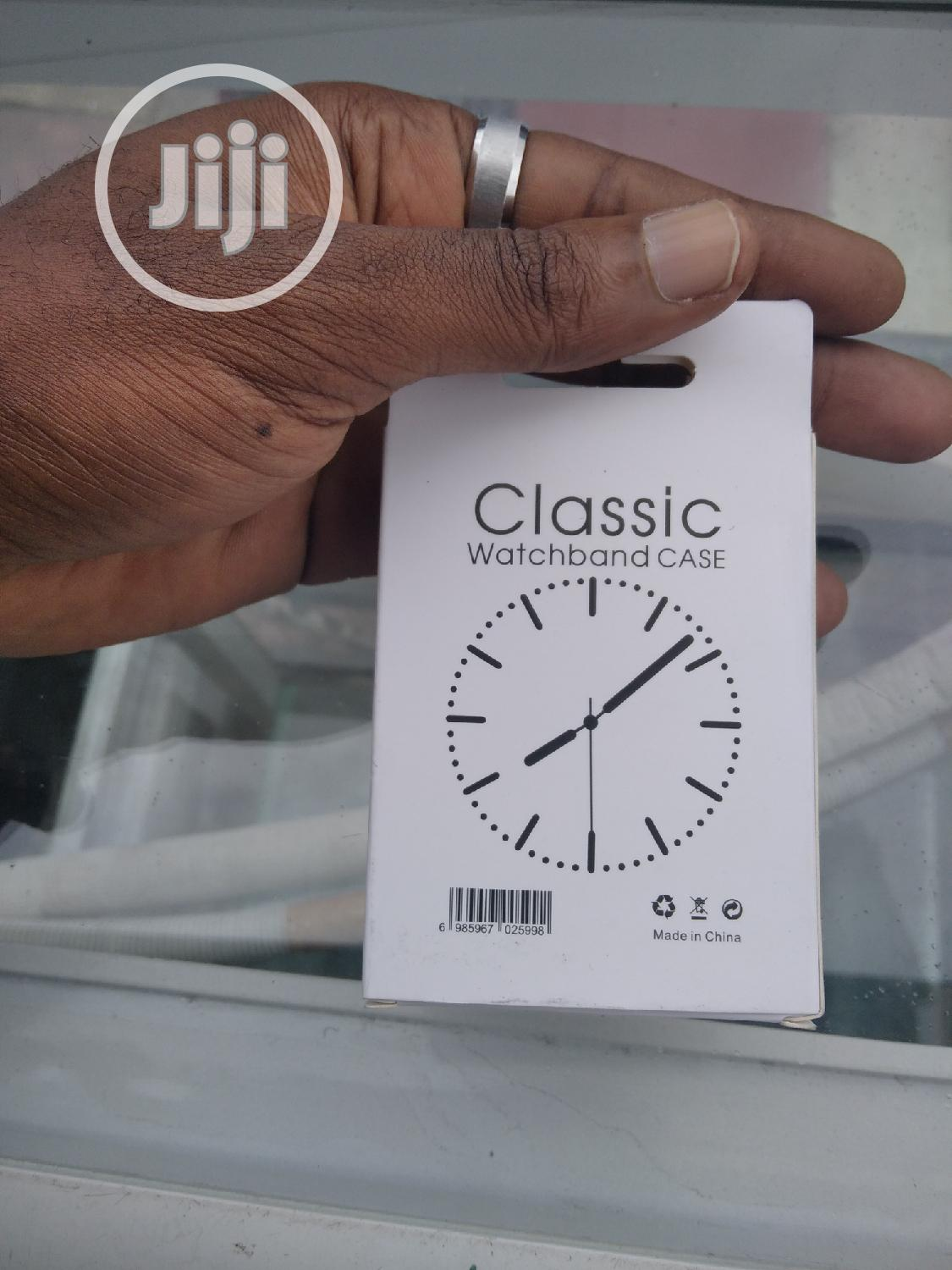 Silicon and Glass Protector for Apple Watch