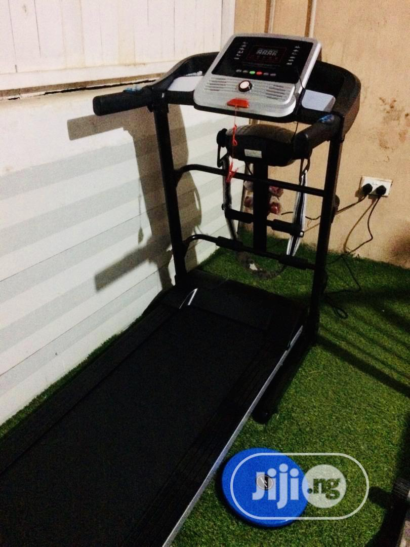 Brand New 2hp Treadmil With Massager Max User Weigth 120kg. | Sports Equipment for sale in Wuse 2, Abuja (FCT) State, Nigeria