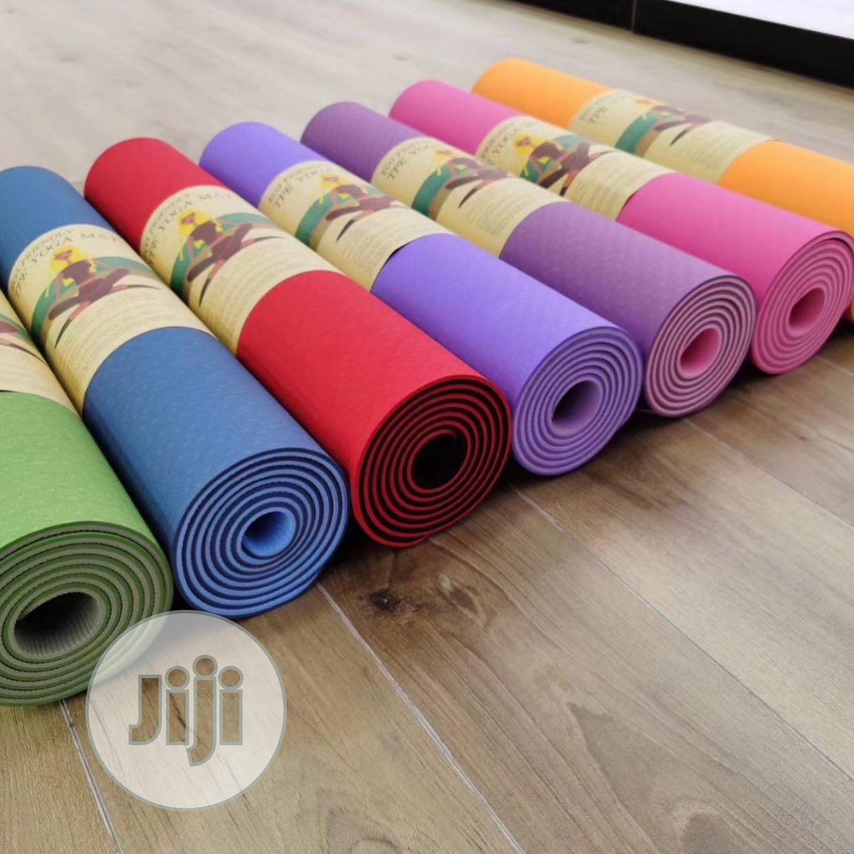 PVC Yoga Mat | Sports Equipment for sale in Wuse, Abuja (FCT) State, Nigeria