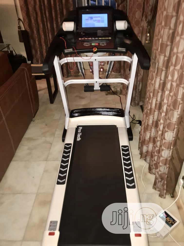 Brand New 3hp Treadmil With Wifi Max User Weigth 170kg | Sports Equipment for sale in Maitama, Abuja (FCT) State, Nigeria