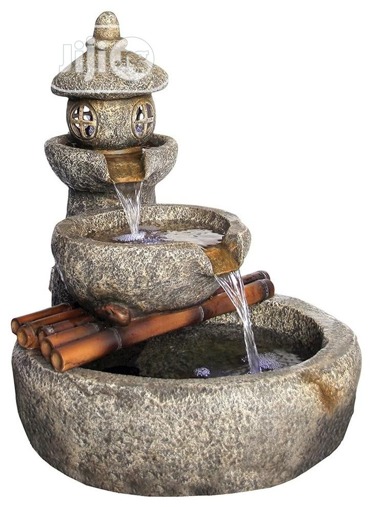 Outdoor And Indoor Water Fountains