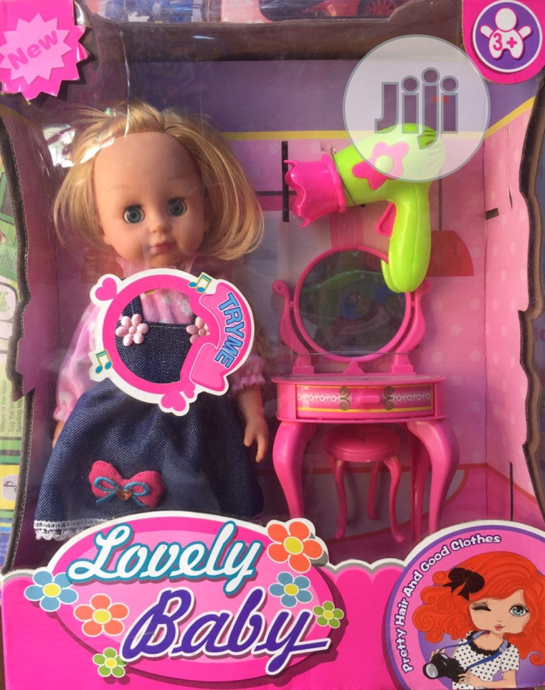 Baby Doll With Accessories   Toys for sale in Apapa, Lagos State, Nigeria