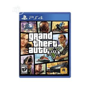 Sony Playstaion 4 Games Grand Theft Auto - GTA V | Video Games for sale in Lagos State, Ikeja