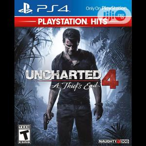 Playstation Uncharted 4 Game | Video Games for sale in Lagos State, Ikeja