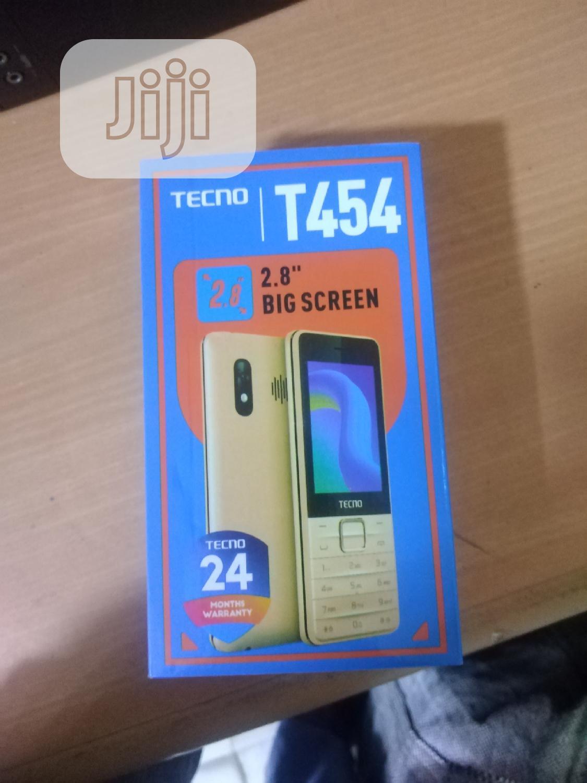 New Tecno T454 Black