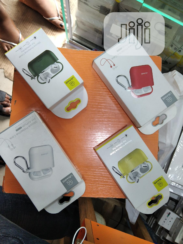 Usams Silicon Protective Case for Airpods