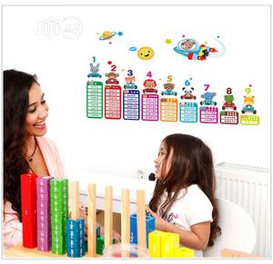 Multiplication Table Educational Wall Sticker | Home Accessories for sale in Lagos State, Magodo
