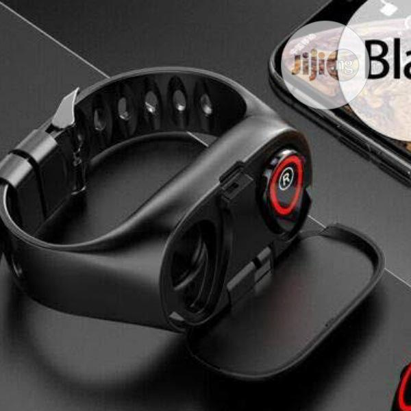 Smart Bracelet With Earbuds   Smart Watches & Trackers for sale in Ikeja, Lagos State, Nigeria