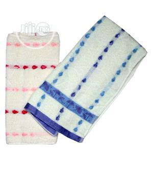New Born Absorbent Baby Set Towel( 2 In A Pack)Cream & Multi | Baby & Child Care for sale in Lagos State, Ojota