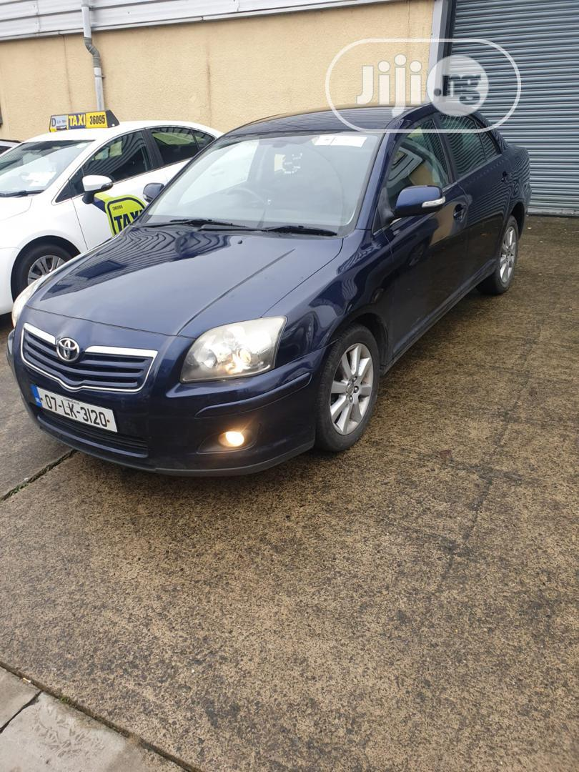Toyota Avensis 2007 Blue