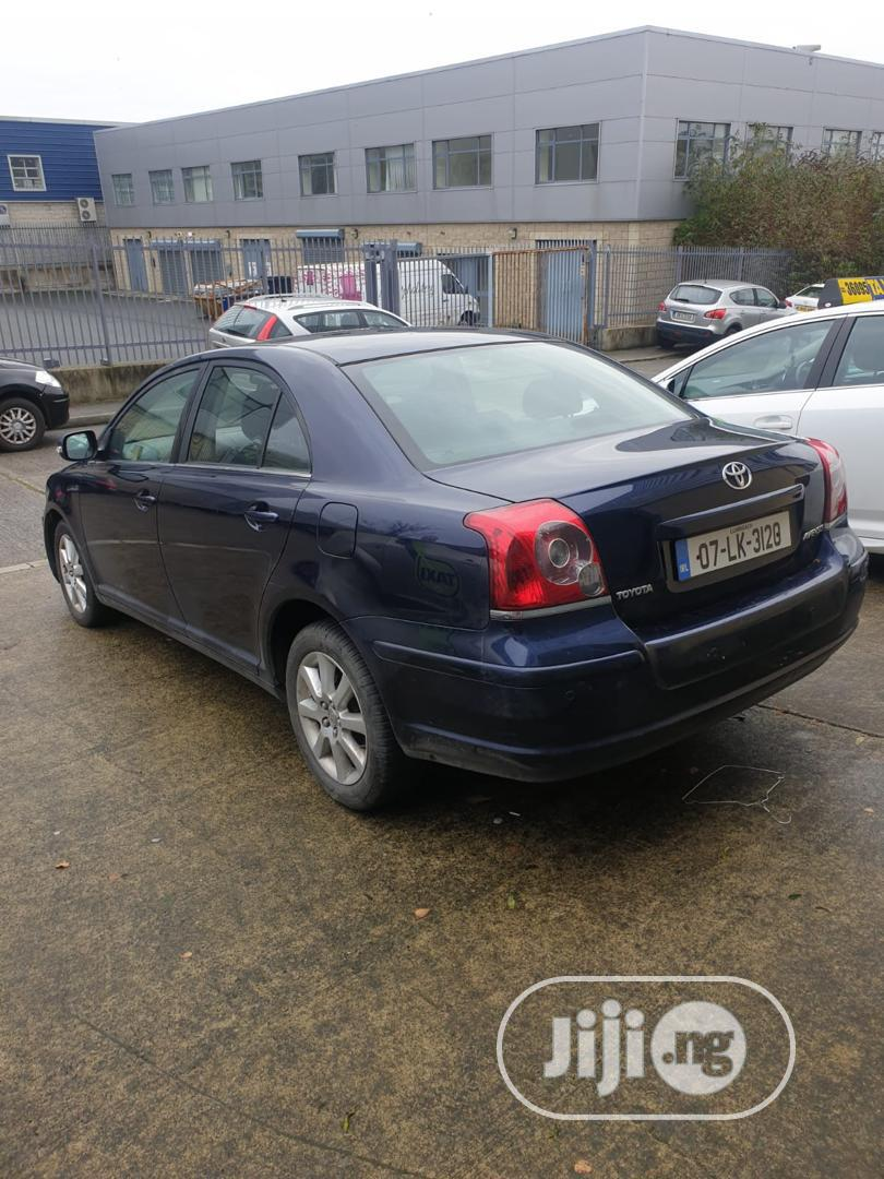 Toyota Avensis 2007 Blue | Cars for sale in Agboyi/Ketu, Lagos State, Nigeria