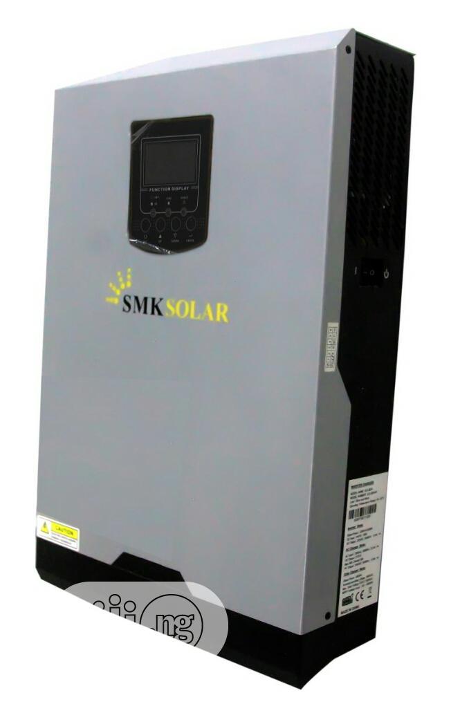 5kva Pure Sine Wave Hybrid Inverter 80amp Mppt Solar Charge | Solar Energy for sale in Ikeja, Lagos State, Nigeria