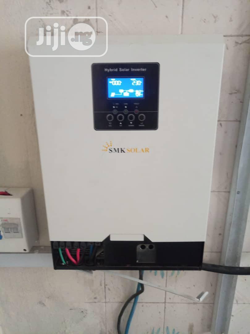 5kva Pure Sine Wave Hybrid Inverter 80amp Mppt Solar Charge