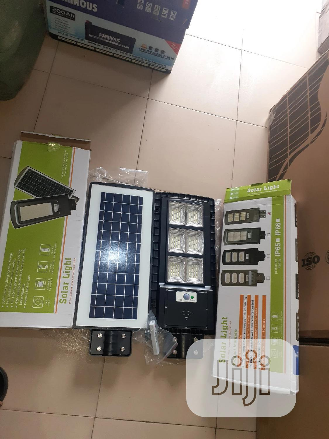 200w All in One Solar Street Lights Is Available Now In