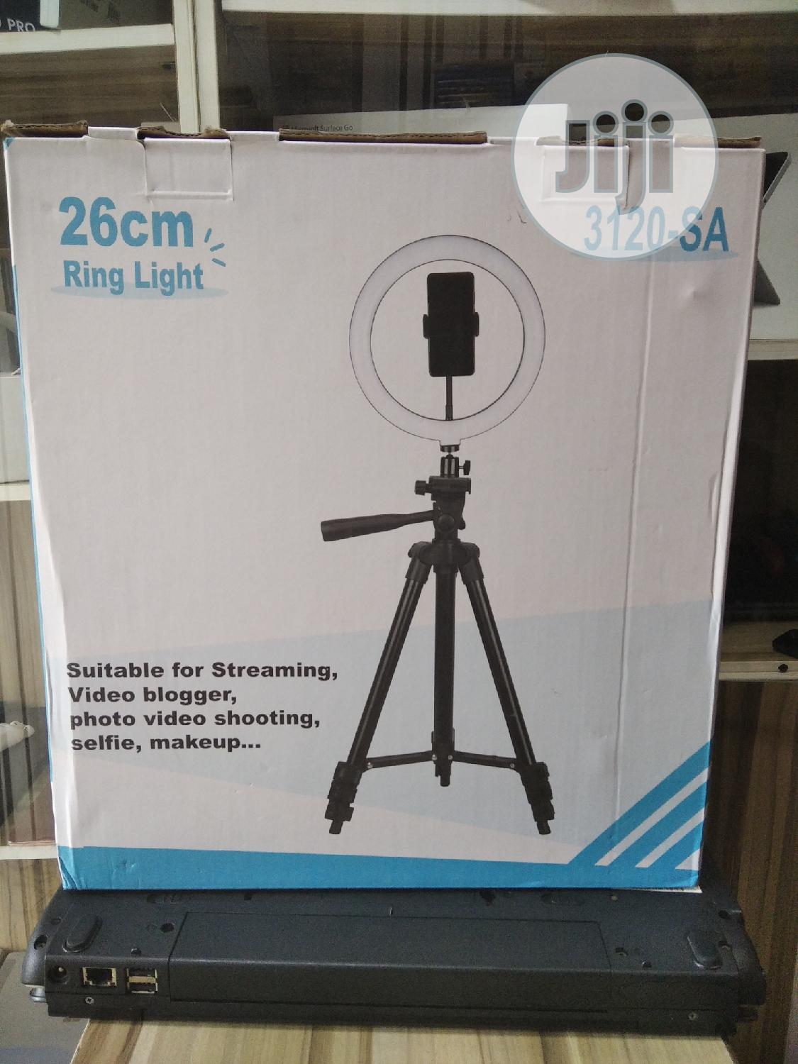 26cm Ring Light With Adjustable Stand | Accessories for Mobile Phones & Tablets for sale in Ikeja, Lagos State, Nigeria