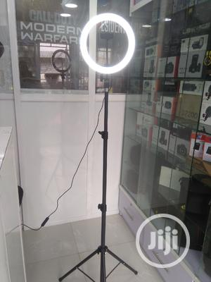 """LED Ring Light 10"""" With Stand And Phone Holder   Accessories & Supplies for Electronics for sale in Lagos State, Ikeja"""