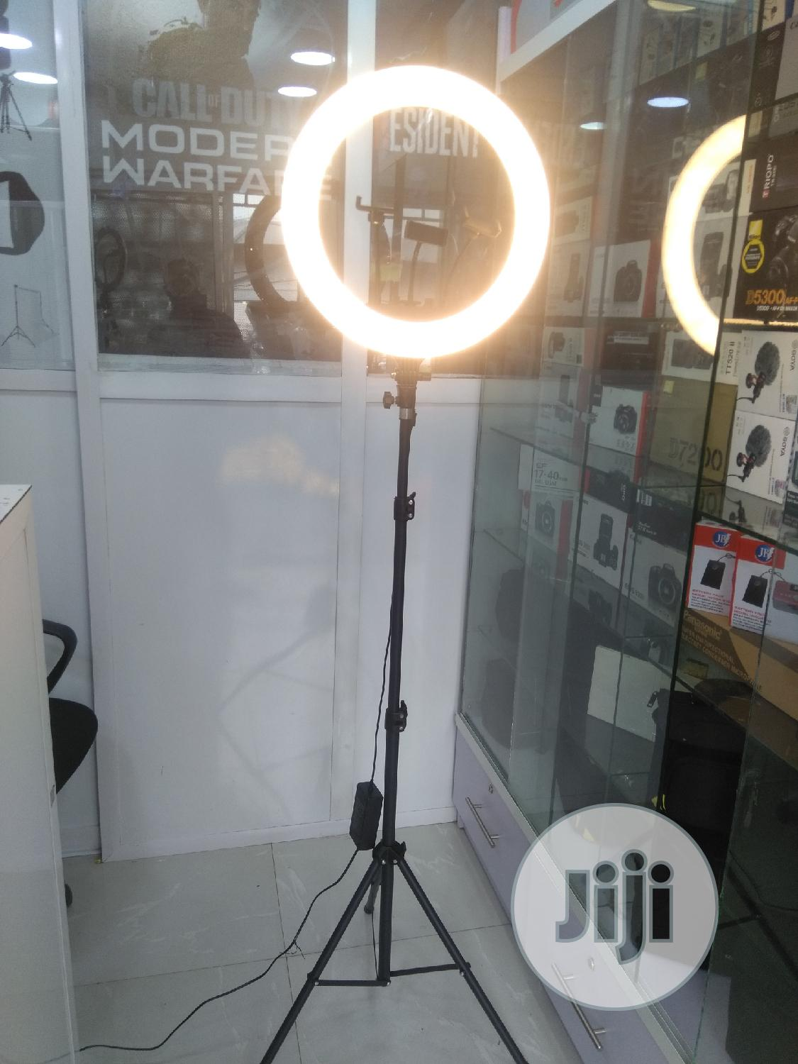 """LED Ring Light 18"""" With Remote, 3 Phone Clips & Stand   Accessories & Supplies for Electronics for sale in Ikeja, Lagos State, Nigeria"""