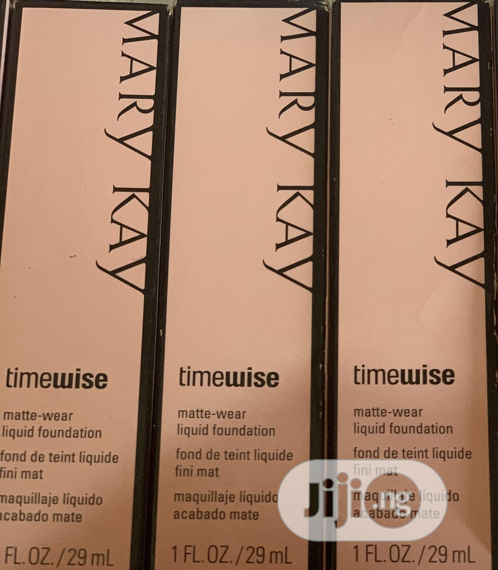 Marykay Time Wise Foundation   Makeup for sale in Abule Egba, Lagos State, Nigeria