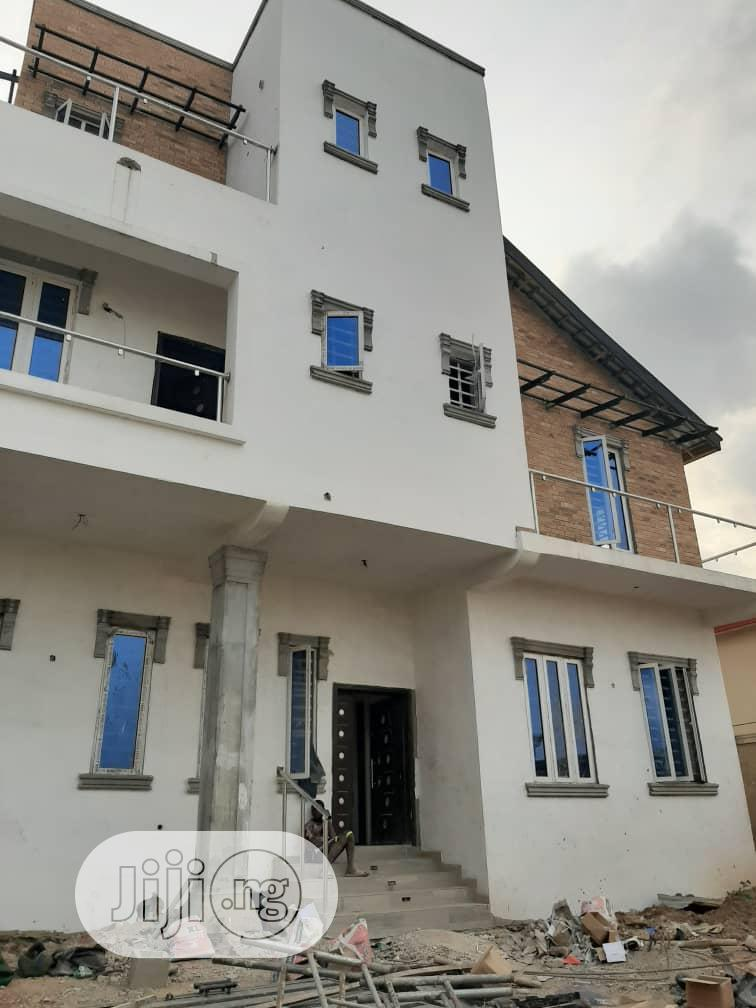 A Brand New 5 Bedroom Detached House At Magodo GRA Phase 2