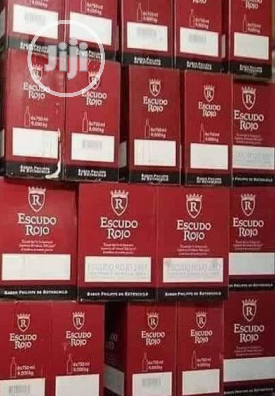 Escudo Rojo Red Wine