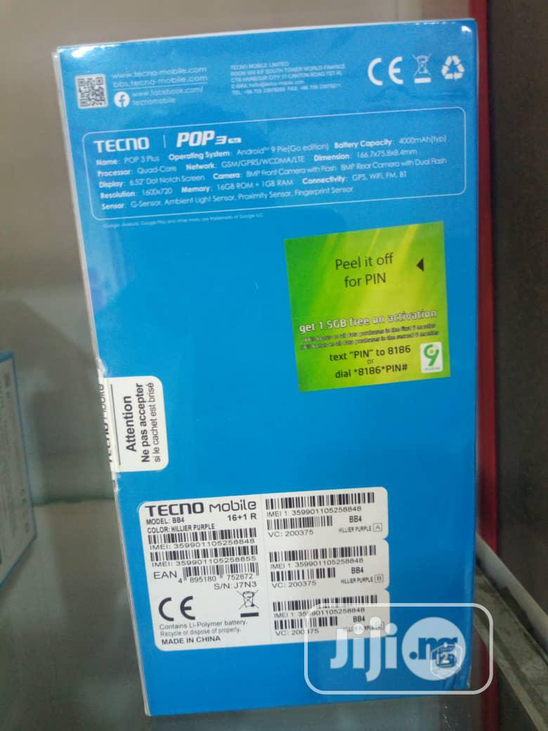 New Tecno Pop 3 Plus 16 GB Black | Mobile Phones for sale in Port-Harcourt, Rivers State, Nigeria