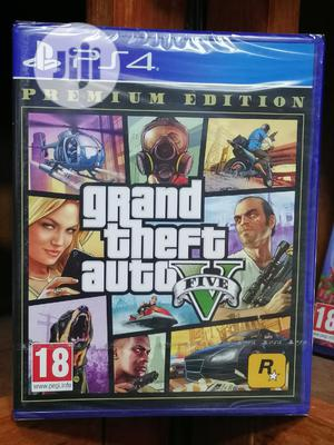 Grand Theft Auto v PS4 Premium Edition | Video Games for sale in Lagos State, Lagos Island (Eko)
