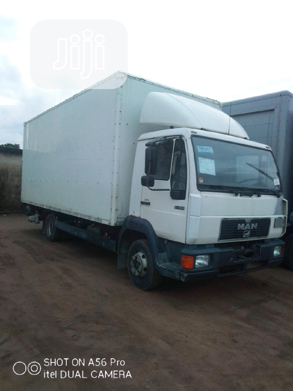 Haulage Man Diesel Rigid Truck