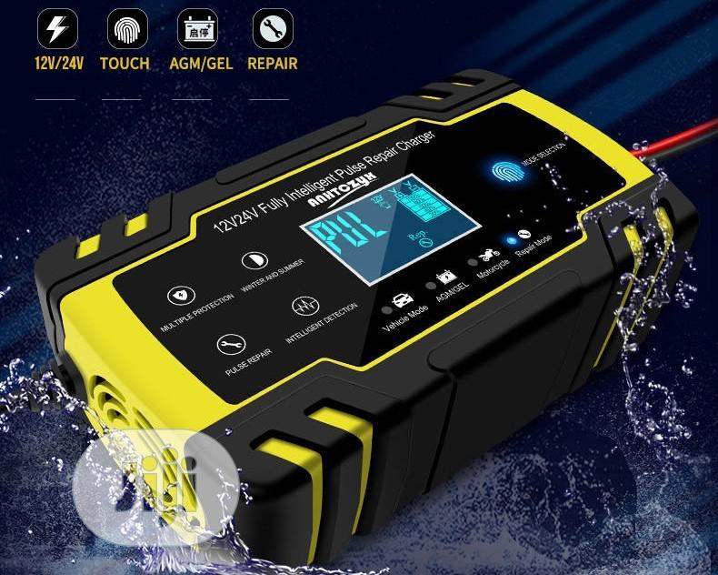 Archive: Car Battery Charger Pulse Repair Starter 12v/24v AGM