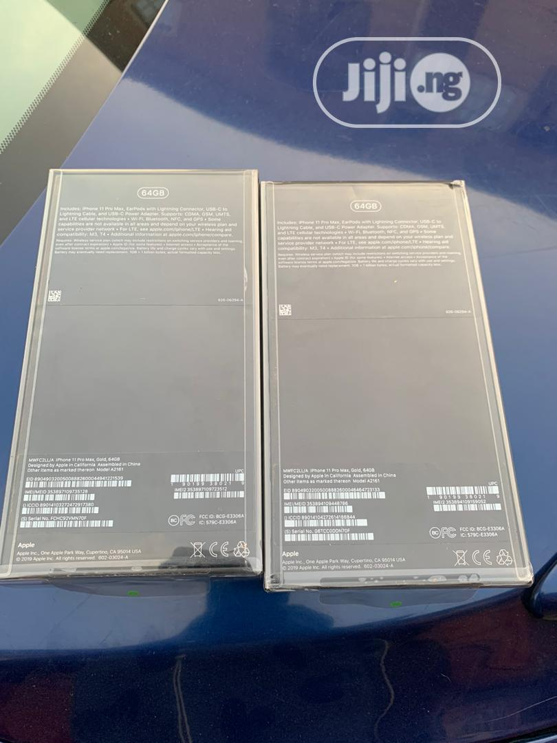 Archive: New Apple iPhone 11 Pro Max 64 GB Gold