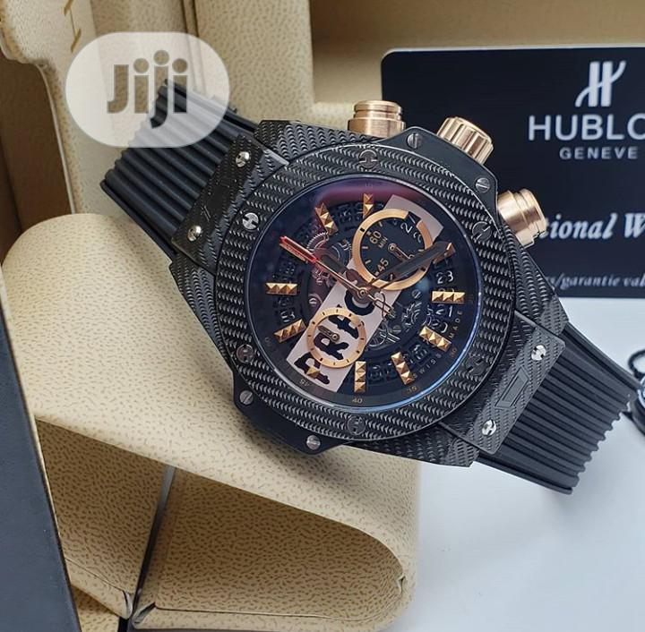 High Quality Hublot Rubber Strap Watch