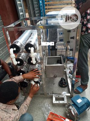 R O Water Treatment 4 Membrane Osmosis Machi | Manufacturing Equipment for sale in Lagos State, Orile