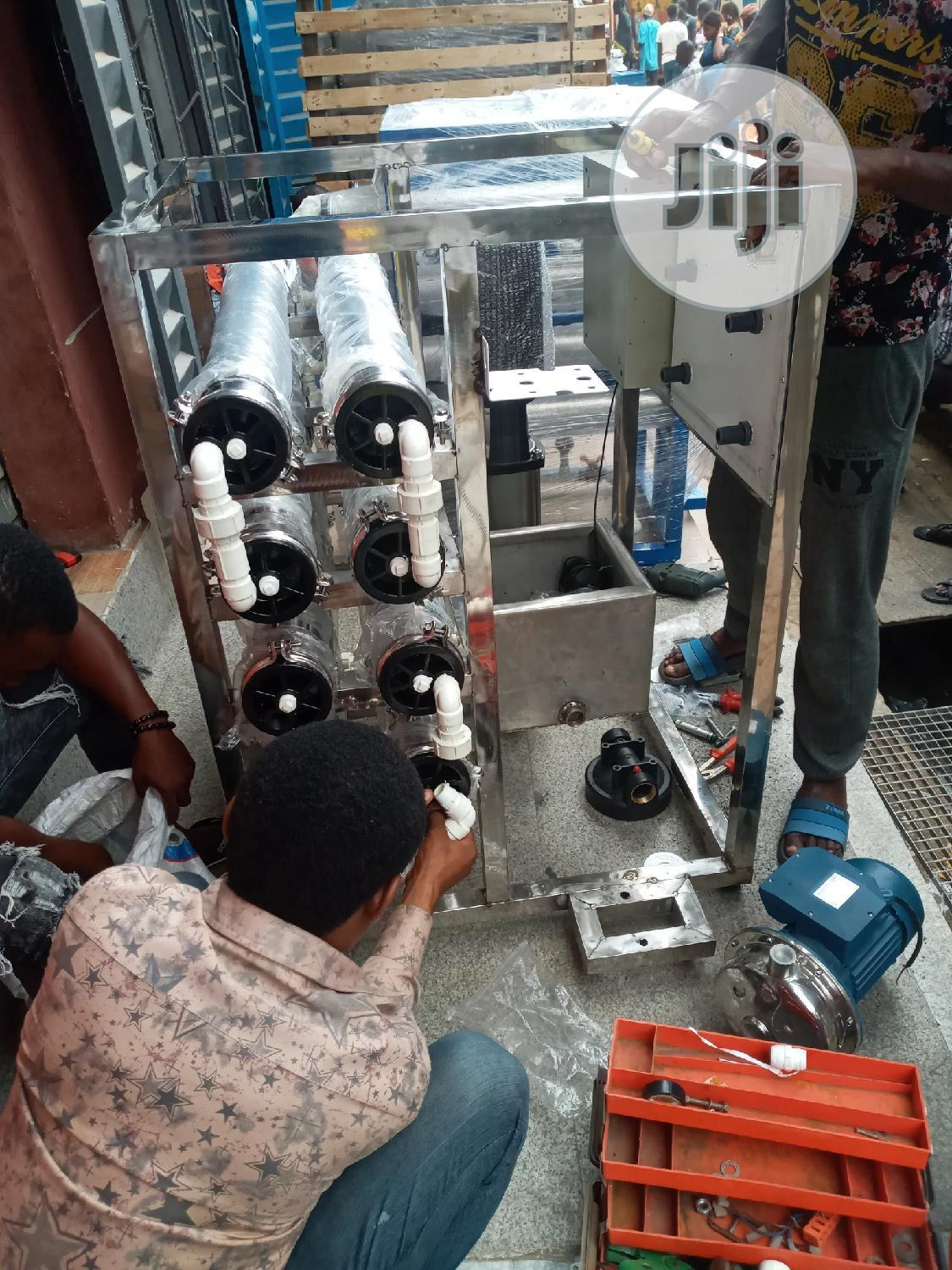 R O Water Treatment 4 Membrane Osmosis Machi | Manufacturing Equipment for sale in Orile, Lagos State, Nigeria