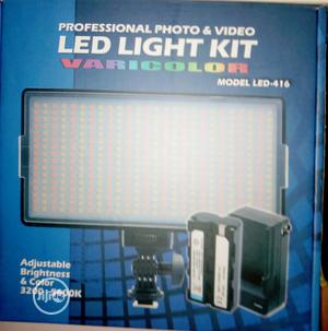 LED Light Kit for Photo and Video With Stand | Accessories & Supplies for Electronics for sale in Lagos State, Ojo