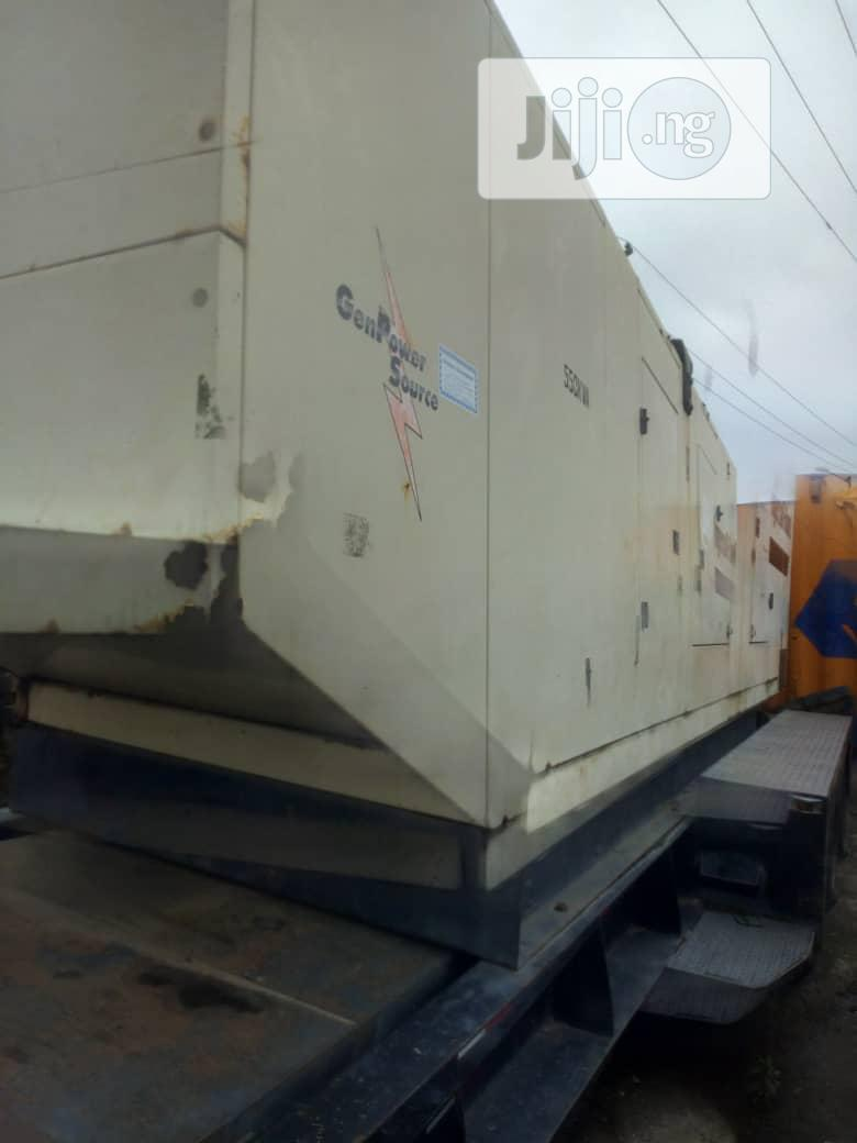 Clean 550KVA Come With 6 Cylinder Volvo Engine | Heavy Equipment for sale in Ikorodu, Lagos State, Nigeria